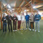 angehende Golfer mit dem Zertifikat Platzreifeprüfung