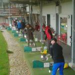 Golfer beim Training GC Klockerhof