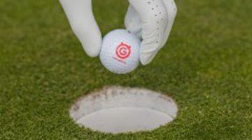 ÖGV Ball Loch Green Golfer