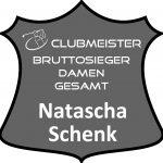 graues Schild Clubmeister DAmen