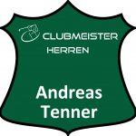 grünes Schild Clubmeister Herren