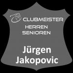 Ehrentafel Jürgen Jakopovic Clubmeister Senioren
