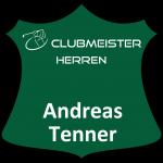 Ehrentafel Andreas Tenner Clubmeister